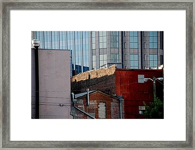 Old And New Close Together Framed Print by Susanne Van Hulst