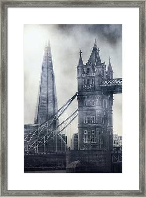 old and new London Framed Print by Joana Kruse