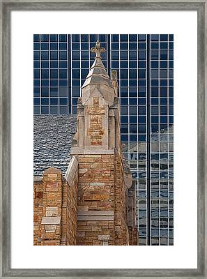 Old And New Framed Print by Mitch Spence