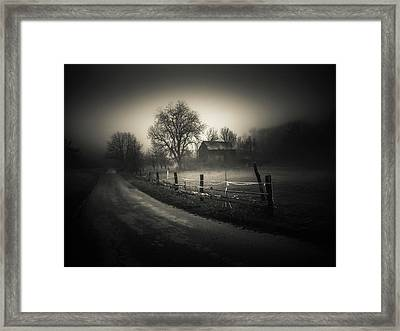 Old Barn Framed Print by Silvijo Selman