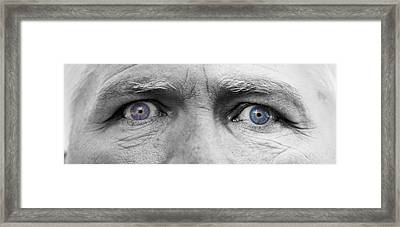 Old Blue Eyes Framed Print by James BO  Insogna