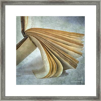 Old Book Framed Print by Bernard Jaubert