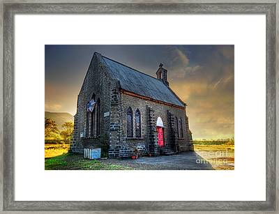 Old Church Framed Print by Charuhas Images