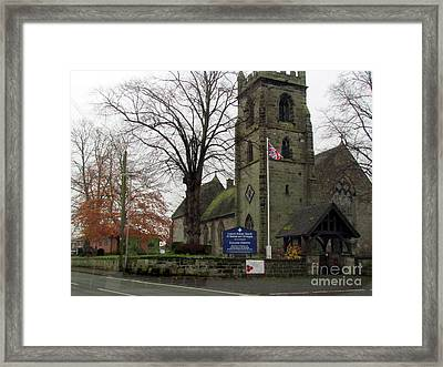 Old Church  Framed Print by Joyce Woodhouse