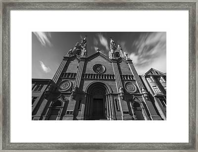 Old Church Framed Print by Phil Fitzgerald