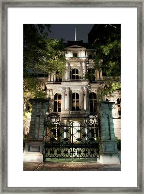 Old City Hall Building - Boston Framed Print by Joann Vitali