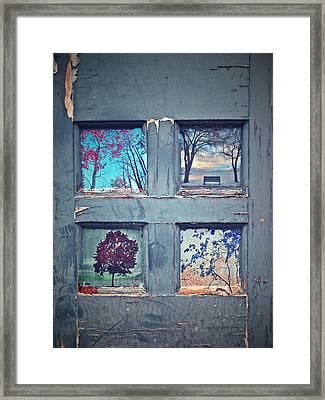 Old Doorways Framed Print by Tara Turner