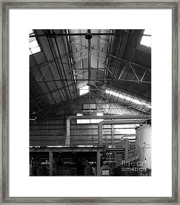 Old Factory Framed Print by Yali Shi