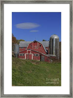 Old Family Farm Vermont Framed Print by Edward Fielding