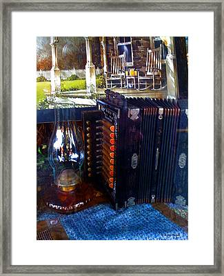 Old Fashioned Entertainment Framed Print by Karl Reid