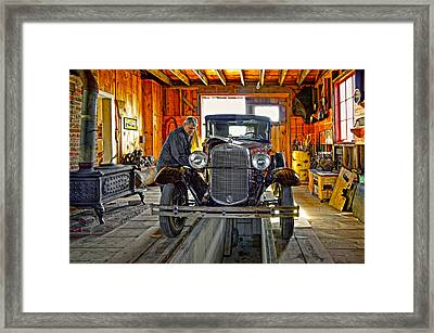 Old Fashioned Tlc Framed Print by Steve Harrington