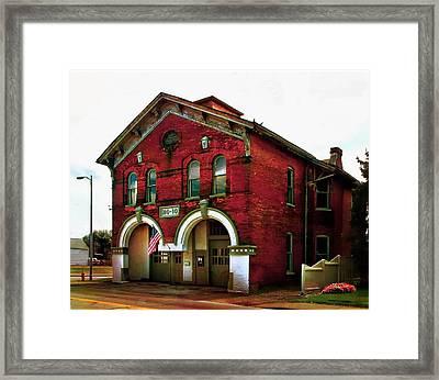 Old Firehouse No. 10 Framed Print by Julie Dant
