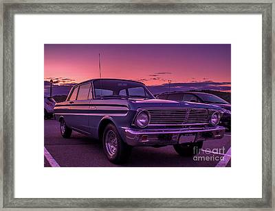 Old Ford Framed Print by Claudia M Photography