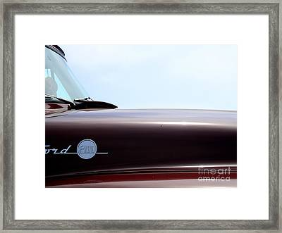 Old Ford F100 Truck - Img4781 Framed Print by Wingsdomain Art and Photography