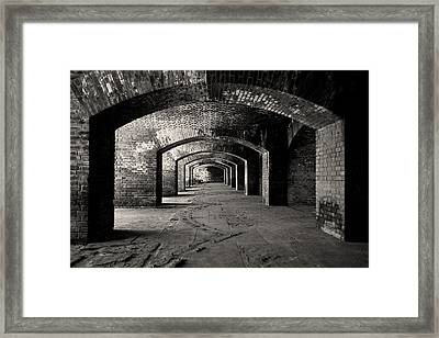 Old Fort Jefferson - Dry Tortugas National Park - Florida Keys Framed Print by Andy Moine