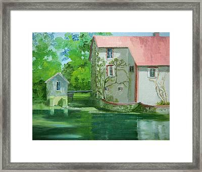 Le Joli Moulin Framed Print by Roxanne Rodwell