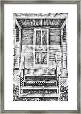 Old Front Porch Framed Print by Vicki McLead