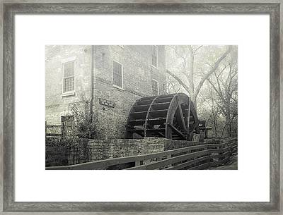 Old Graue Mill Framed Print by Julie Palencia