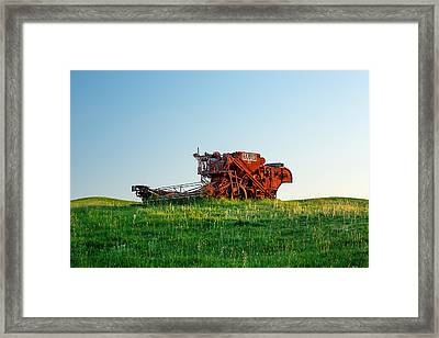 Old Harris 88 Framed Print by Todd Klassy