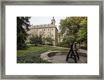 Old Main Penn State Bell  Framed Print by John McGraw