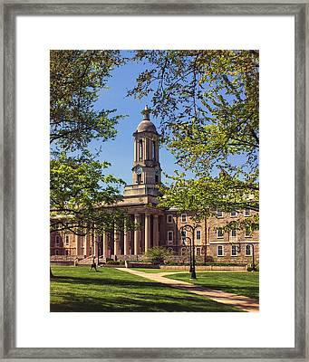 Old Main Framed Print by Tom Gari Gallery-Three-Photography