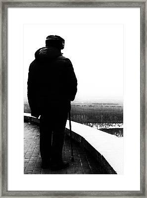 Forgotten Horizon Framed Print by John Williams