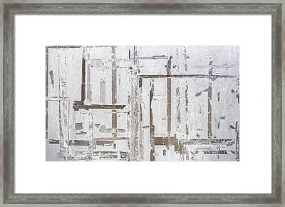 Old Marking Tapes Framed Print by Germano Poli