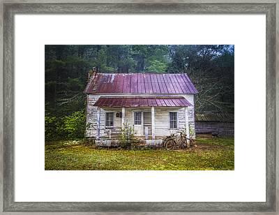 Old Memories Framed Print by Debra and Dave Vanderlaan