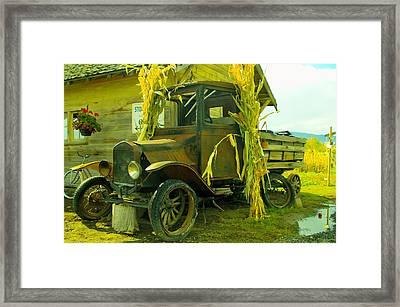 Old Model T  Framed Print by Jeff Swan