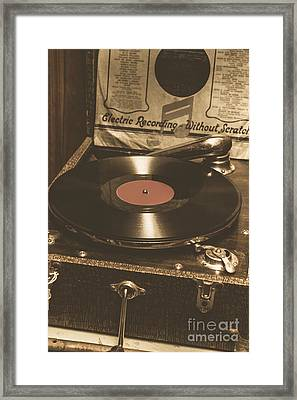 Old Music Box Framed Print by Jorgo Photography - Wall Art Gallery