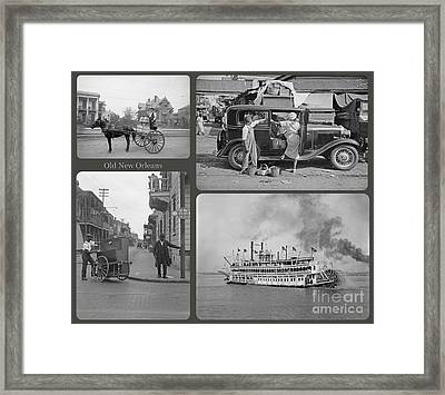 Old New Orleans Framed Print by John Malone