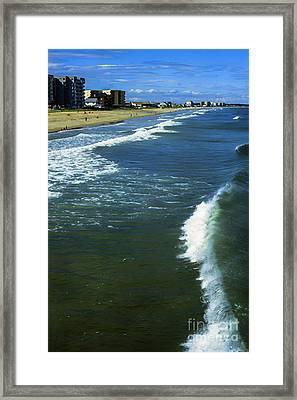 Old Orchard Beach Framed Print by Thomas R Fletcher