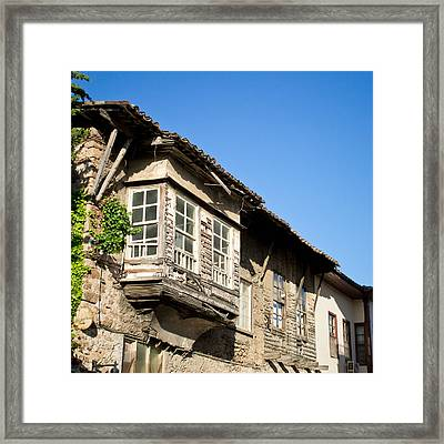Old Ottoman Building Framed Print by Tom Gowanlock