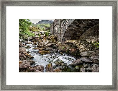 Old Packhorse Bridge  Framed Print by Adrian Evans