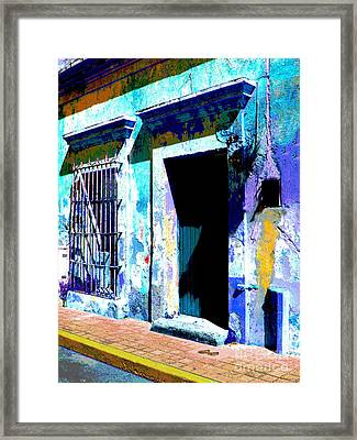 Old Paint By Darian Day Framed Print by Mexicolors Art Photography