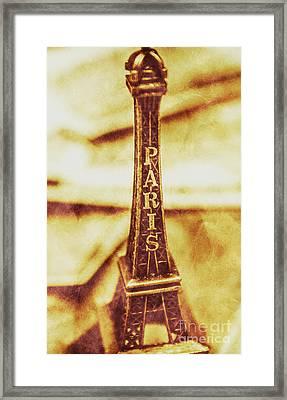 Old Paris Decor Framed Print by Jorgo Photography - Wall Art Gallery