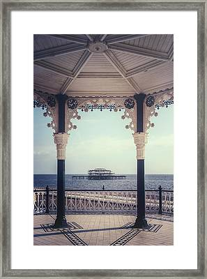 old pier Brighton Framed Print by Joana Kruse