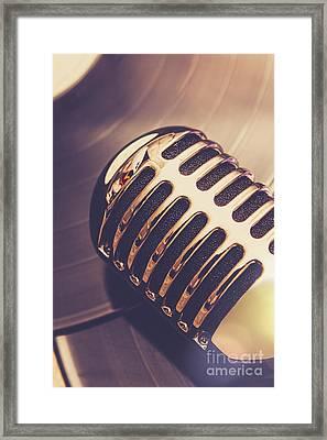 Old Radio Nostalgia Framed Print by Jorgo Photography - Wall Art Gallery
