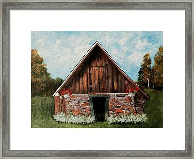 Old Root House Framed Print by Anastasiya Malakhova