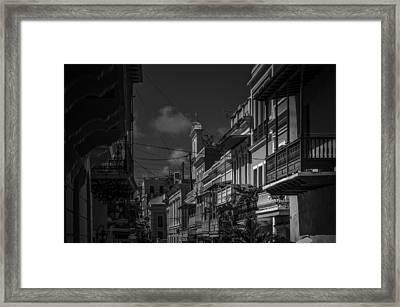 Old San Juan Framed Print by Mario Celzner