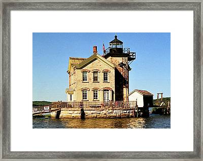 Old Saugerties Lighthouse Framed Print by Ira Shander