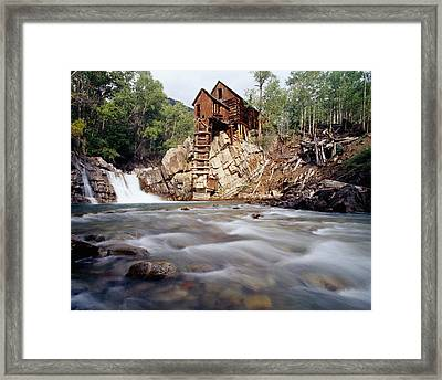 Old Saw Mill, Marble, Colorado, Usa Framed Print by Panoramic Images