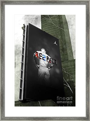 Old School Respect Framed Print by John Rizzuto