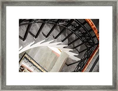 Old Stairs Framed Print by Toppart Sweden