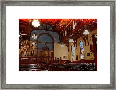 Old Stone Church -2 Framed Print by David Bearden