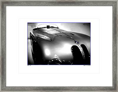 Old Style Speed Framed Print by Jerry Taliaferro