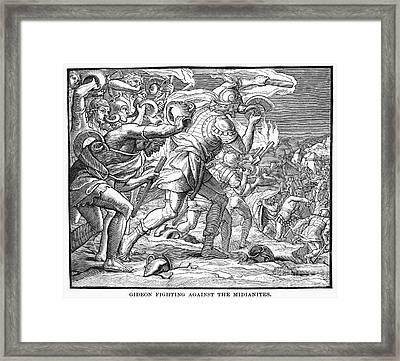 Old Testament: Gideon Framed Print by Granger