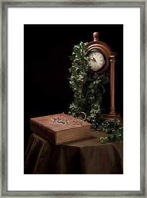 Old Tome I Framed Print by Tom Mc Nemar
