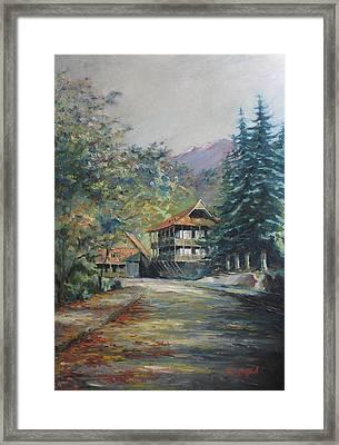 Old Town Dilijan Framed Print by Tigran Ghulyan