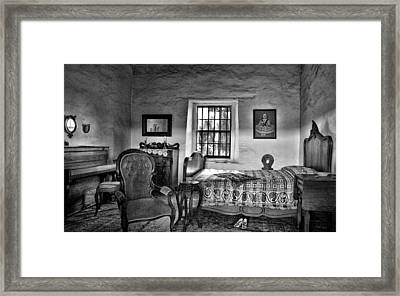Old Town San Diego - Historic Park Bedroom Framed Print by Mitch Spence